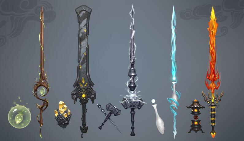 珍兽:凌霄剑影